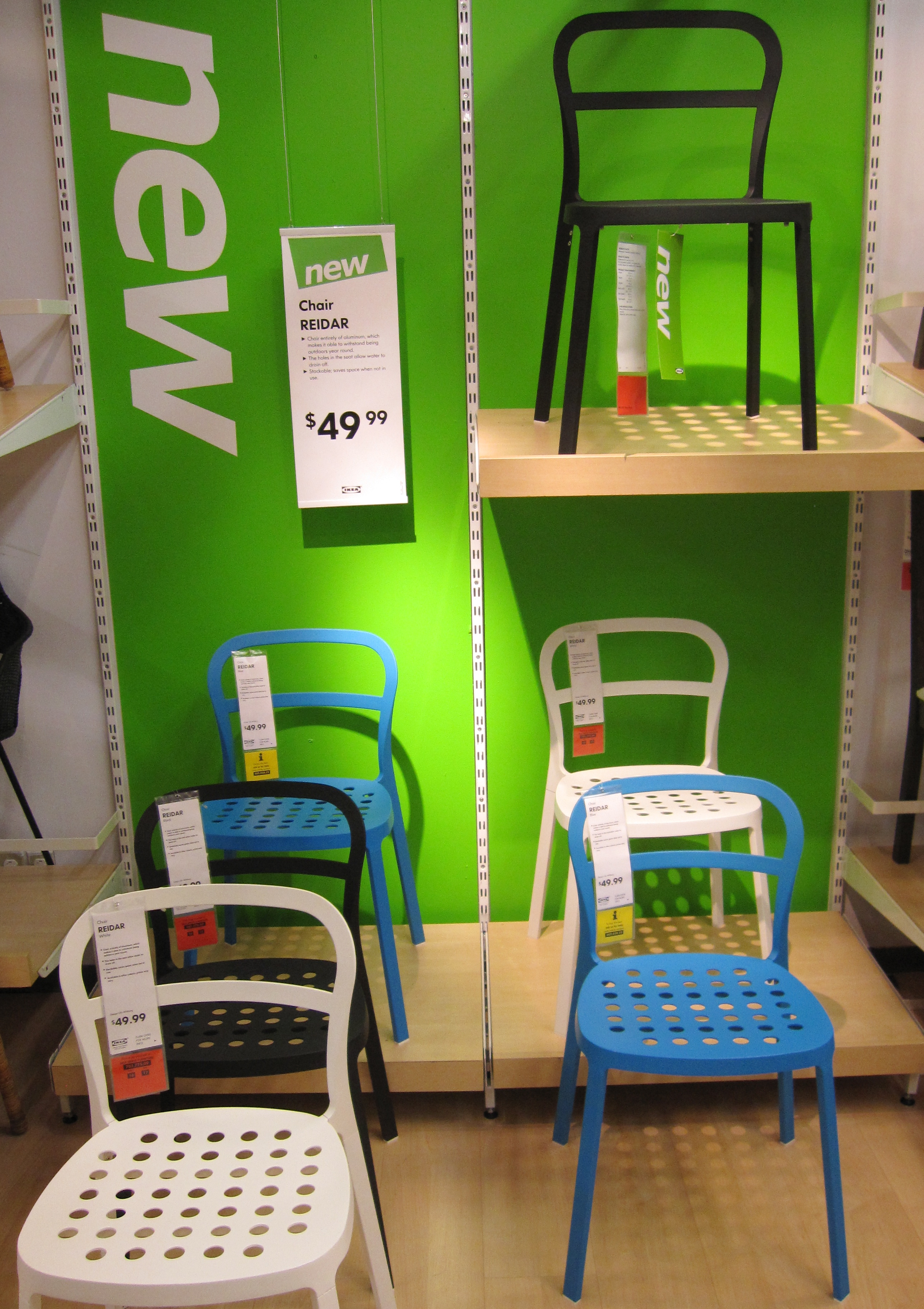 Ikea Aluminum Chair One Pictures