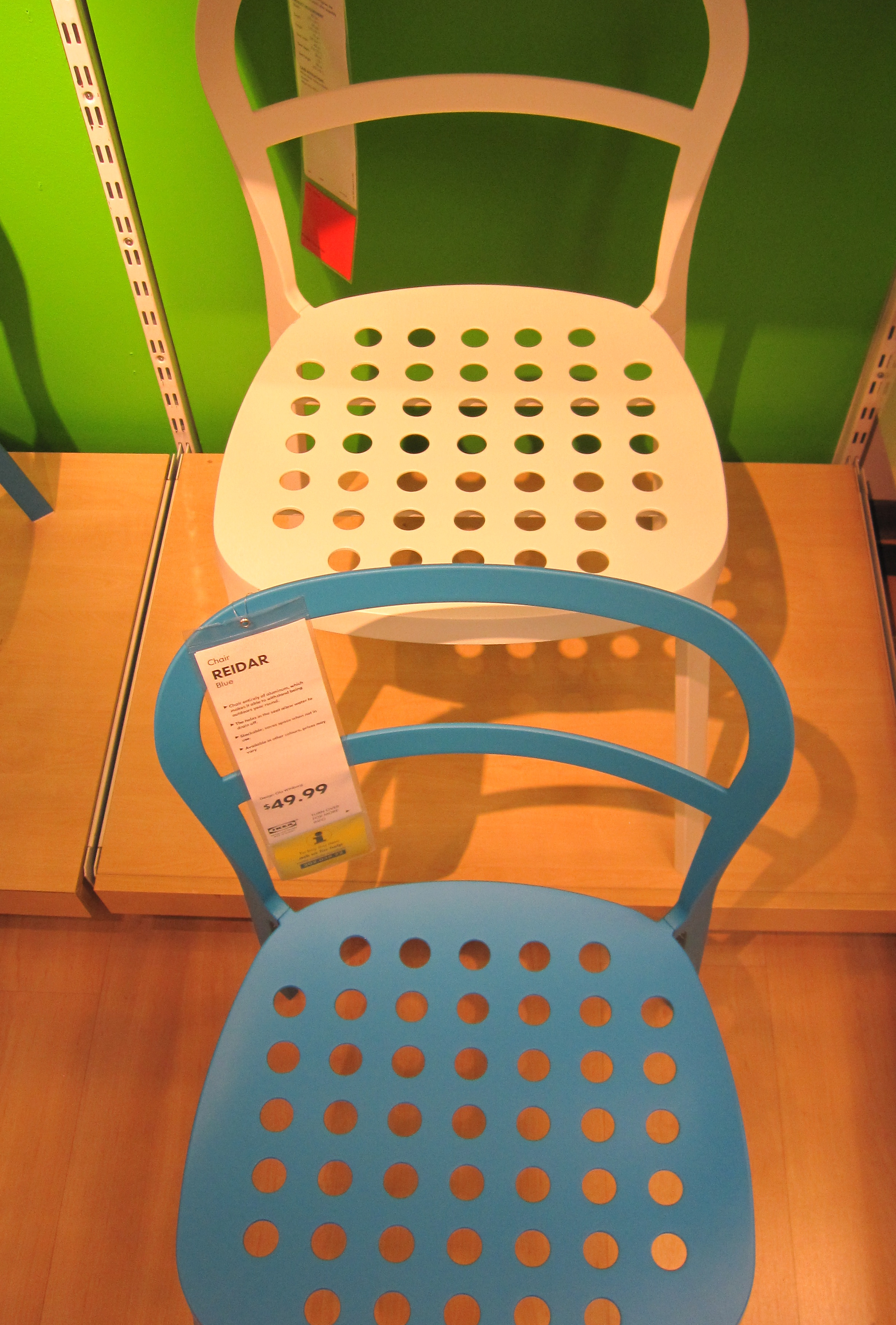 Aluminum Ikea Chair 2